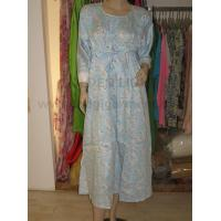 Buy cheap 202 floral weave cotton nightgown from wholesalers