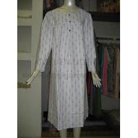 China 301 elegant cotton flannel nightgown on sale