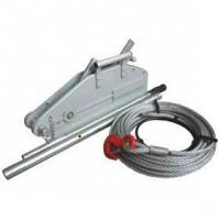 Electric Scissor Jack Wire Rope Pulling Hoist Manufactures