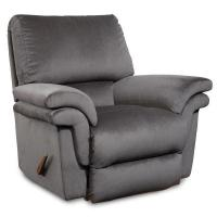 China Large Recliners Joel Swivel Rocker Recliner in Bonded Leather on sale