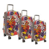 Olympia Blossom Hardside 3 Piece Luggage Set Manufactures