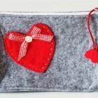 Travel accessories Felt make-up pouch Manufactures