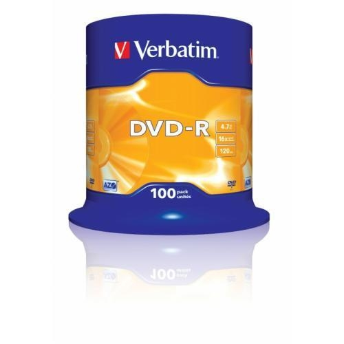 Quality VERBATIM DVD-R 16x Speed (43549) for sale
