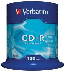 Quality VERBATIM CD-R 52x Extra Protection (43411) for sale