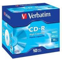 Verbatim CD-R 40x High Capacity 800MB 90Min (43428) Manufactures