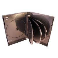 China Coral Collection 26mm Spine Grey Multi Way DVD Case Holds 5 Discs (3 Swing Trays) on sale