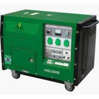 China Portable Gasoline Generator Air Cooling Electric Portable Gasoline Generator With 4.5kw / 5kw on sale