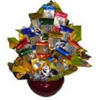 Gourmet Gold Candy Bouquet Manufactures