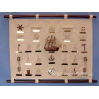 "China Nautical Clocks Sailor's Knot Sampler w/Clock 30"" wholesale"