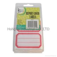 self-adhesive blank label for printing or writing Manufactures