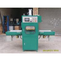 Touch screen to be automatic sliding table radiofrequency fusing machine Manufactures