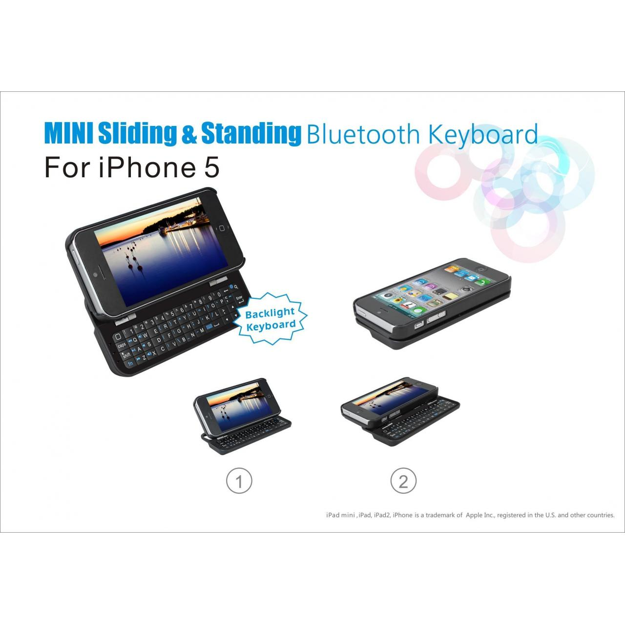 China Bluetooth keyboard for Iphone 5Model: KB-003 on sale