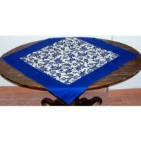 Print Linens framed table topper Manufactures