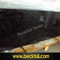 China Indian Black Galaxy Countertops for American Marketing on sale