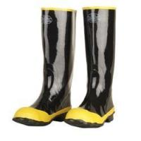 Cordova Black 16 Rubber Steel-Toed Boots. Sizes 6 to 15. Manufactures