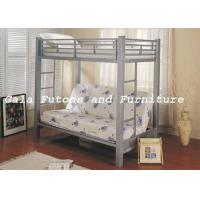 China Bunks Twin Over Futon Metal Bunk Bed on sale
