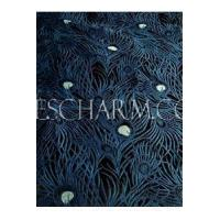 China Fabric Peacock Feather Pattern Silk Brocade on sale