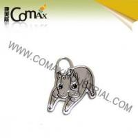Accessories for handbag and garment CMX-PU-048 Metal Fashion Cartoon logo accessories for bag Manufactures