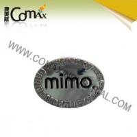 Accessories for handbag and garment CMX-PU-047 Metal Fashion logo accessories for bag Manufactures