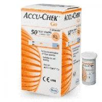 China Blood Glucose Meters Accu-Chek Go Blood Glucose Test Strips - 25 or 50 Units Pack on sale