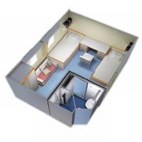 China Accommodation System Pre-fabricated Cabin Unit on sale