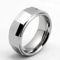 China 8mm Mens Tungsten Carbide Ring Durable Ring on sale