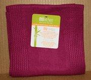 MU Bamboo Kitchen Towel in Eggplant Manufactures