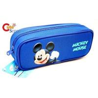 China Disney Mickey Mouse Zippered Pencil Case on sale