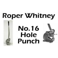 Roper Whitney No.16 Hole Punch Manufactures