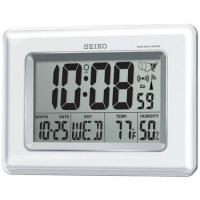 Seiko QHR020WLH Radio Controlled LCD Clock Manufactures