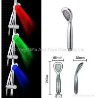 China Water Saving LED Shower Head With Temperature Controlled on sale