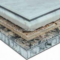 China laminated super thin lightweight stone panels on sale
