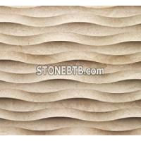 China decorative 3D natural stone wall panels on sale