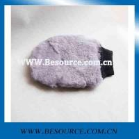 car wash mitt supersoft synthetic wool wash mitt Manufactures