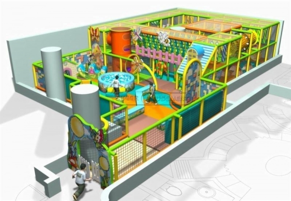 Quality Cheer Amusement Kids Indoor Playground Equipment 20111206-CN-020-1 for sale