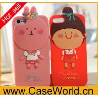 Buy cheap cartoon romane silicon case for iphone5 from wholesalers