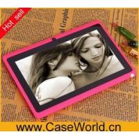 Electronic Product name:wifi 3g android tablet pc, 7 inch android tablet