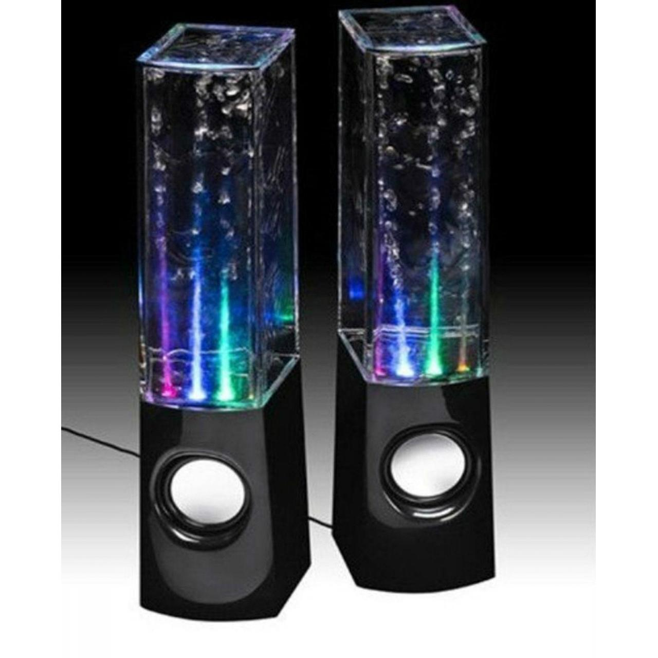Electronic Product name:New USB LED Light Dancing Water Show Speaker Music for PC Laptop Manufactures