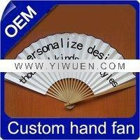 Quality Bamboo Crafts(285) Paper promotional fan for sale