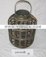 Quality Bamboo Crafts(285) garden decorative bamboo lantern for sale