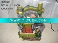 Bamboo Crafts(285) Landscape fountain,Fengshui,Pot fountain with ball and wheel Manufactures