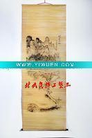 Bamboo Crafts(285) Bamboo Curtain Painting Manufactures
