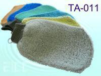 Buy cheap Bamboo Charcoal Exfoliating Bath Mitt from wholesalers