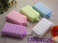 Buy cheap Embossed Checked Bath Sponge from wholesalers