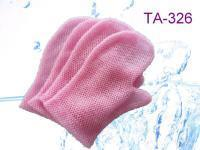 Buy cheap Colorful Nylon exfoliating mitten from wholesalers