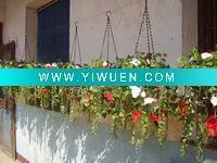 Quality Artificial Crafts(970) Artificial Flowers with Hanging Baskets for sale