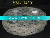 Quality Artificial Crafts(970) floral basket for sale