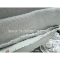 aluminosilicate ceramic fiber fireproof cloth double layer Manufactures