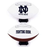 Buy cheap Notre Dame Fighting Irish Full Size Embroidered Logo Football from wholesalers