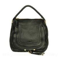 Marcie Small S Sophisticated Leather Hobo Black Manufactures